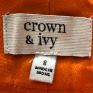 crown & ivy Shorts - Orange Crown and Ivy shorts